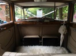 Vintage Rolls Royce for weddings in Windsor